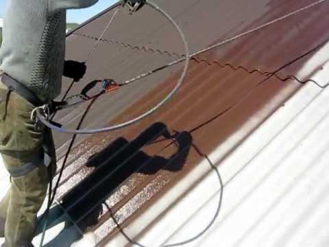 Šiferinio stogo dažymas