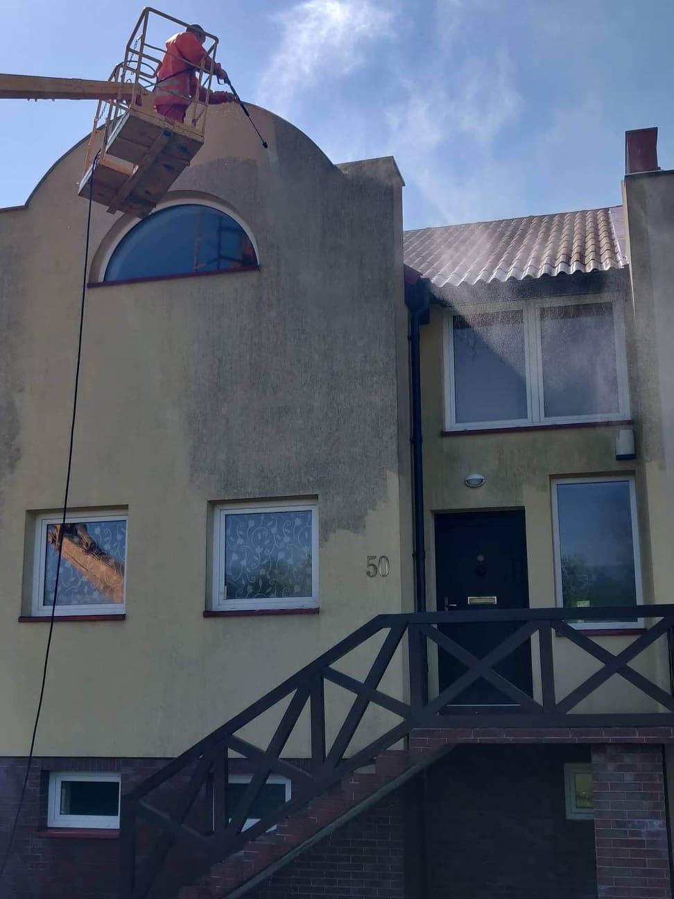 Seno fasado valymas ir atnaujinimas